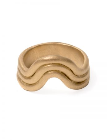 High Tide Ring - Yellow Gold