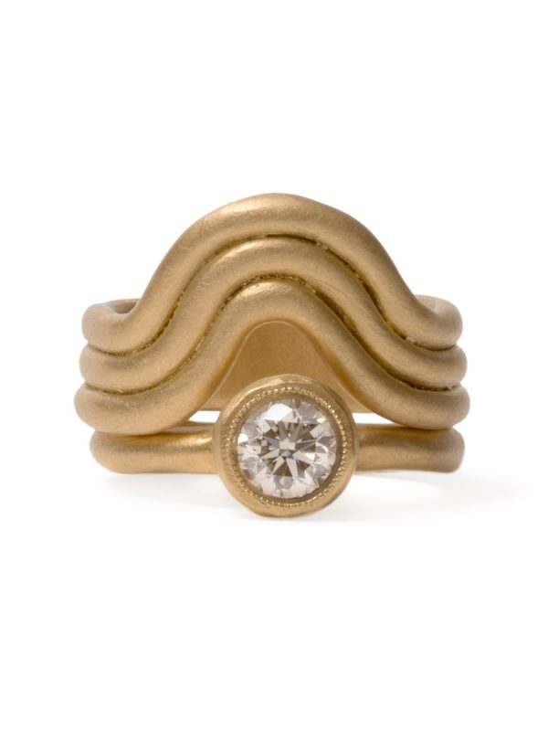High Tide Ring – Yellow Gold