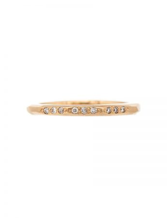 Night Sky Ring - Yellow Gold & Diamond