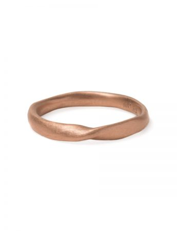 Twist Ring - Rose Gold