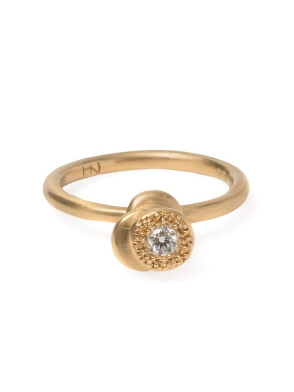 Beloved Assemblage Four Stack Ring – Diamond