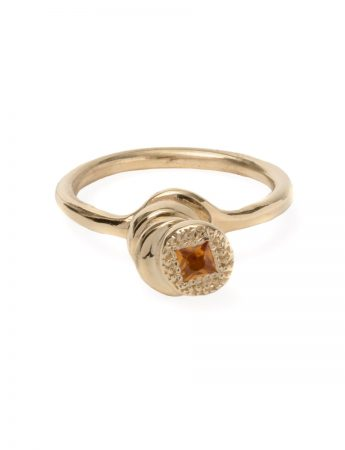 Beloved Assemblage Four Stack Ring - Yellow Sapphire