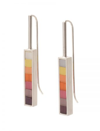 Cascade Earrings - Rainbow