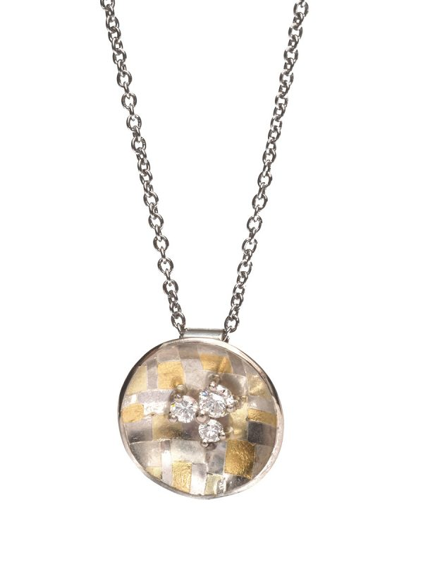 Celestial Terrain Necklace – Diamonds