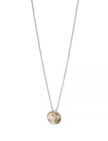 Celestial Terrain Necklace - Diamonds