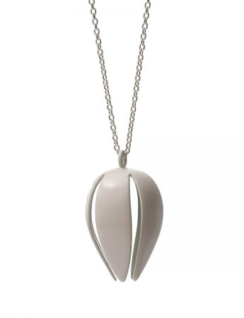 Correa Alba Bud Necklace - White