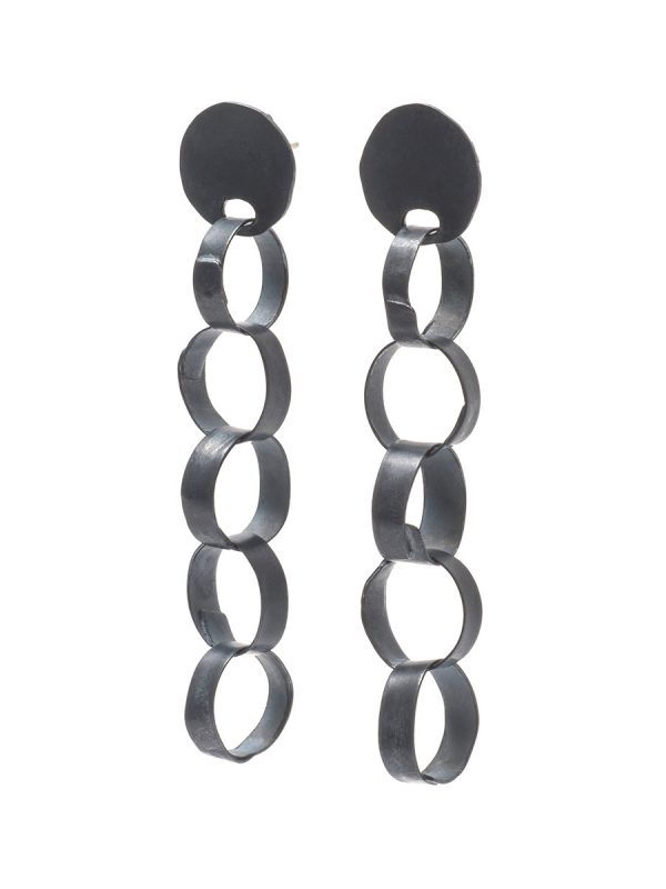 Meteora Earrings – Black