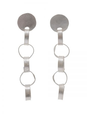 Meteora Earrings - Silver
