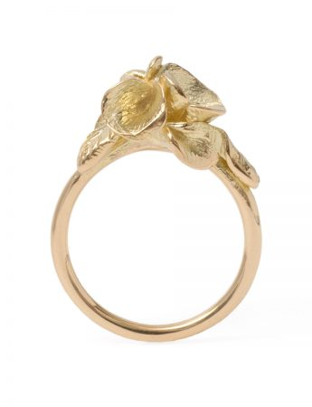 Yellow Gold Spring Posy Ring