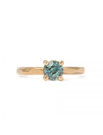 Summer Sky Ring - Teal Sapphire