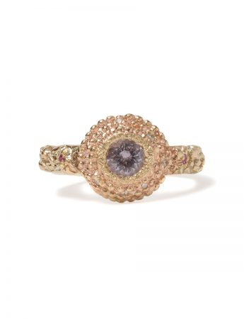 Twilight Ring - Gold with Spinel, Diamonds and Sapphires
