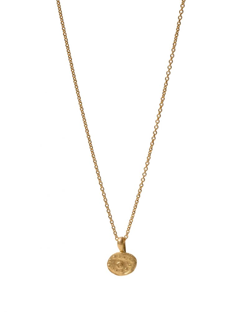 Vision Pendant Necklace – Gold