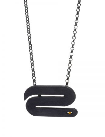 Snakes on a Chain Necklace – Wide