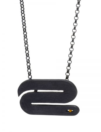 Snakes on a Chain Necklace - Wide