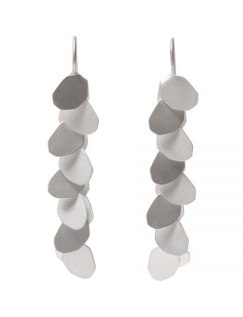 Wisteria 8 Drop Earrings - Silver