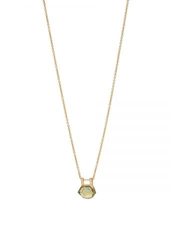 Agility Necklace - Golden Sapphire
