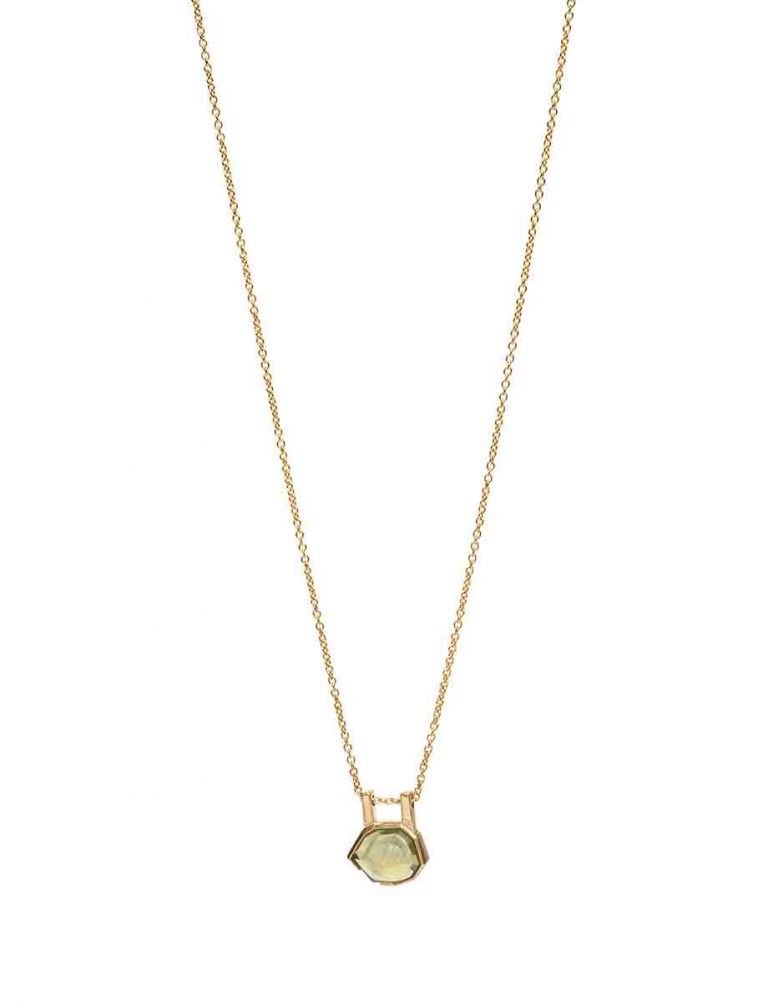 Agility Necklace – Golden Sapphire