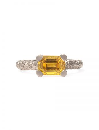 Cocktail Ring - Yellow Sapphire