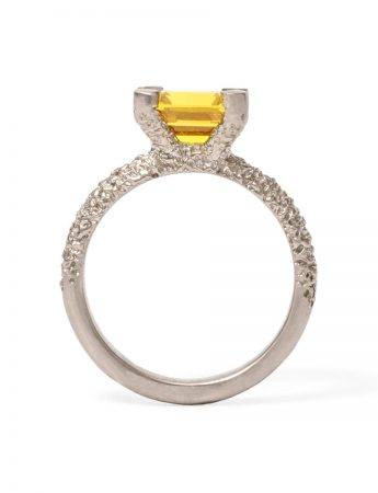 Cocktail Ring – Yellow Sapphire