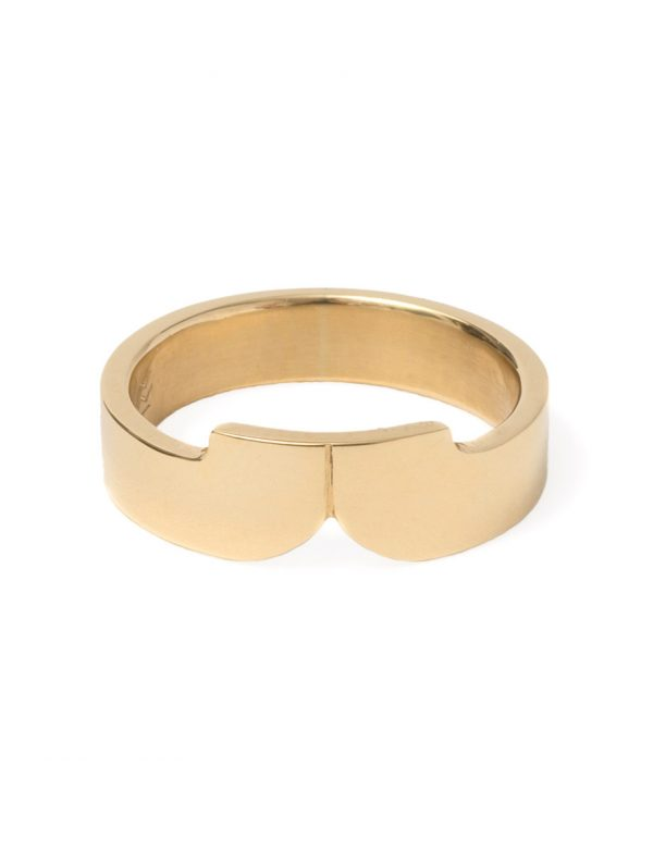 Curve Ring – Gold