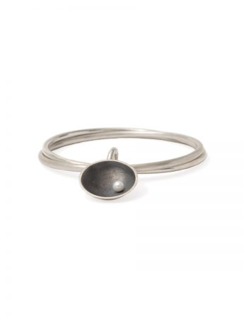 Double Bangle - Sea Dish with Pearl