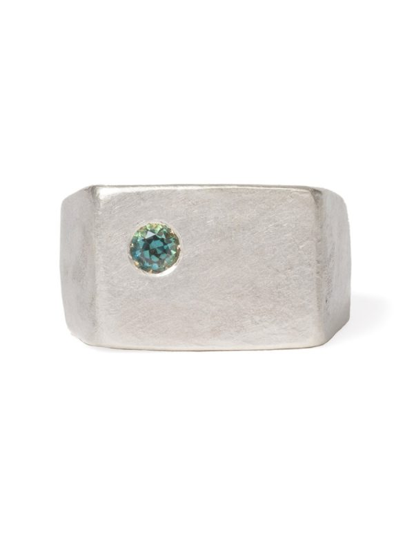East Ring – Silver & Sapphire