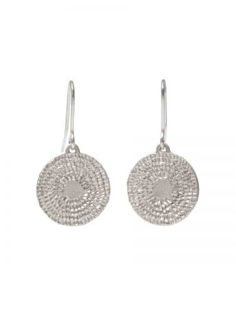 Destine Hook Earrings - Silver