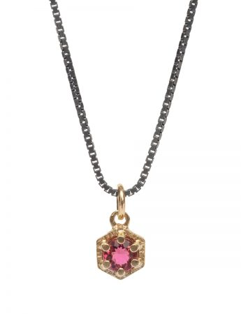 Molecular Necklace - Pink Tourmaline