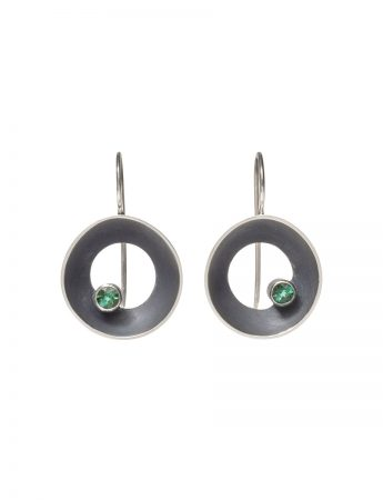 Periwinkle Hook Earrings - Tourmaline