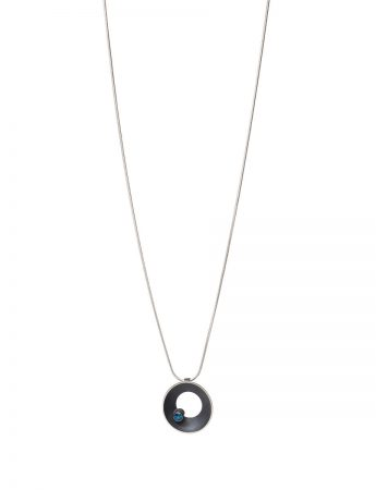 Periwinkle Necklace - Blue Tourmaline