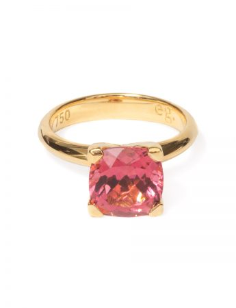 Poet's Ring - Pink Tourmaline