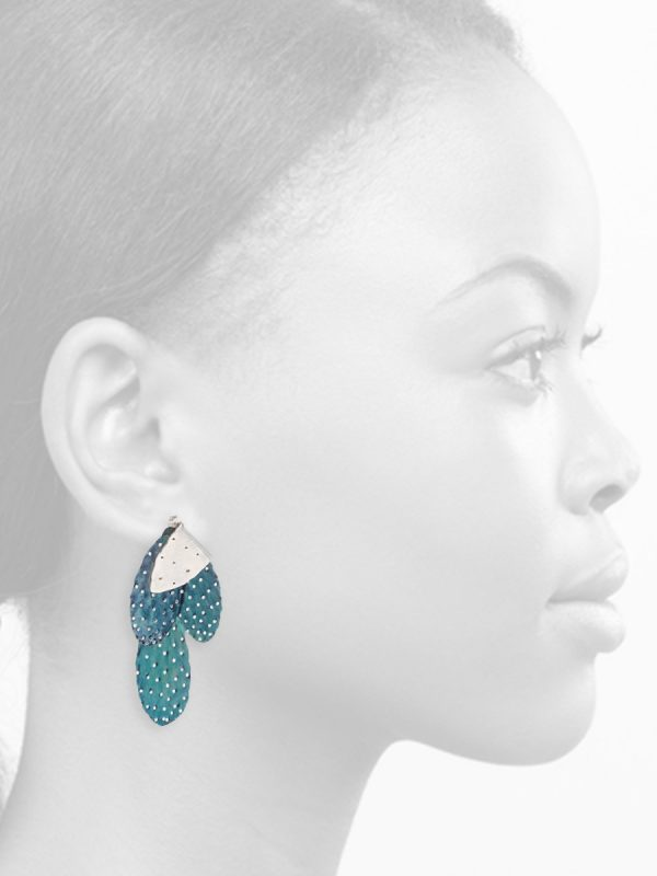 Prickly Pair Earrings – Island Blue