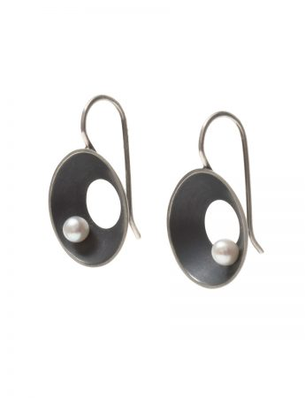 Small Periwinkle Hook Earrings – Pearl