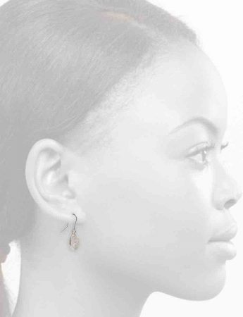 Small Rise Hook Earrings – Silver