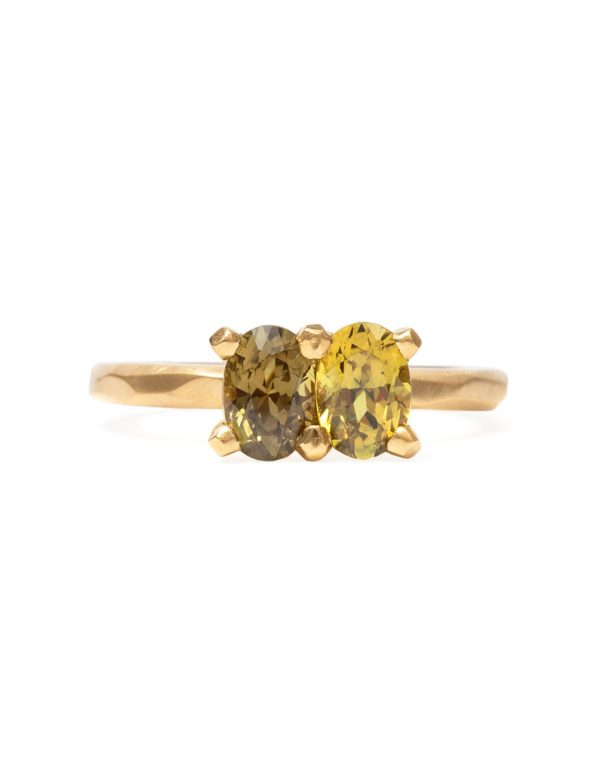 Oval Soul Mate Ring – Parti Sapphires