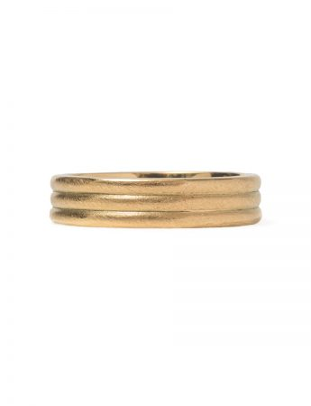 Tri Band Ring - Gold