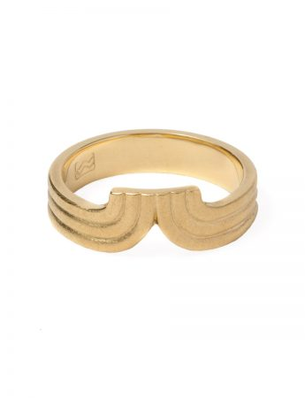 Tri Curve Ring - Gold