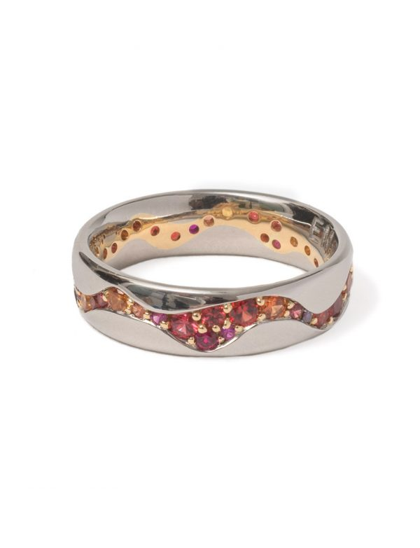 Fire and Blood Ring – Ruby & Sapphire