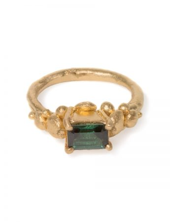 Mountain Ring - Green Tourmaline