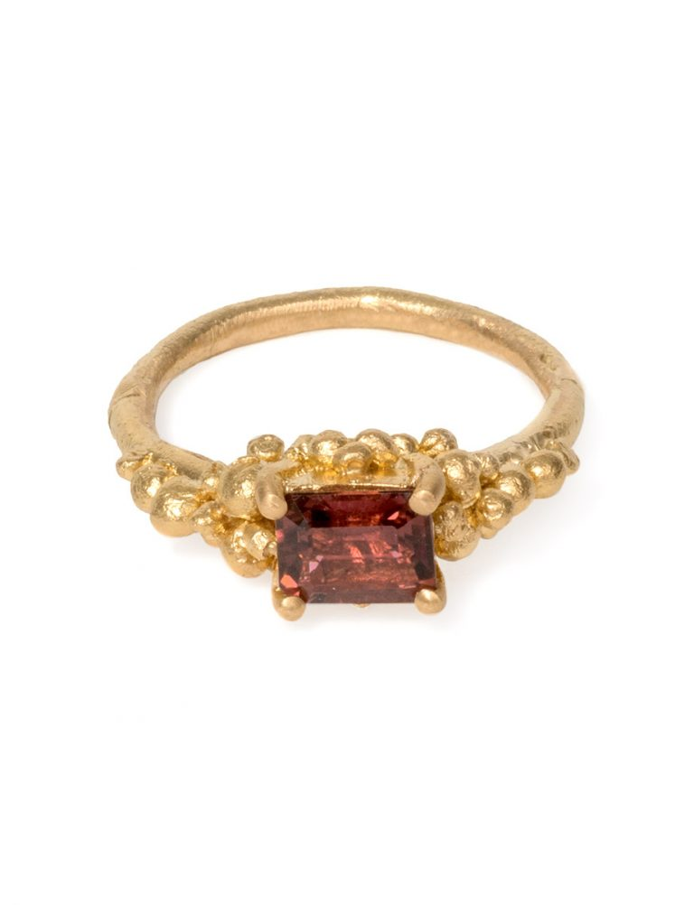 Mountain Ring – Pink Tourmaline