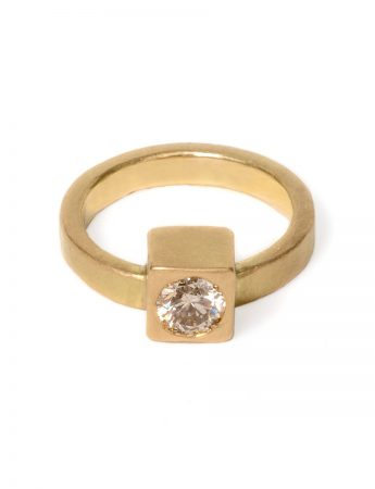 Monument Ring One - Champagne Diamond