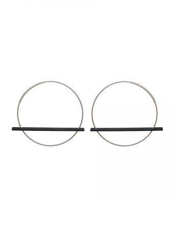 Blade Earrings - Black