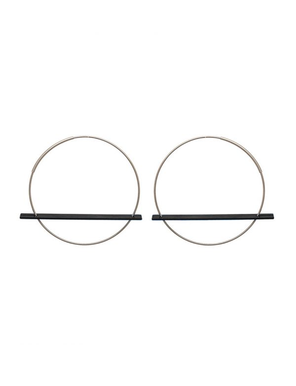Blade Earrings – Black