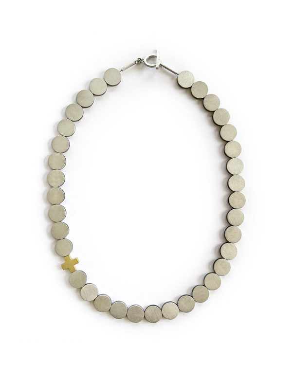 Axis Mundi Necklace – Silver & Gold