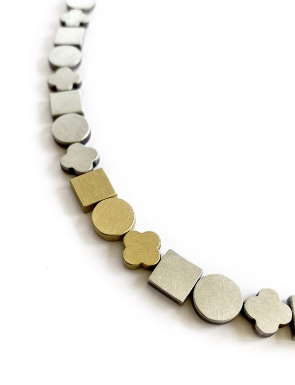 Bridge Between Worlds Necklace – Silver & Gold