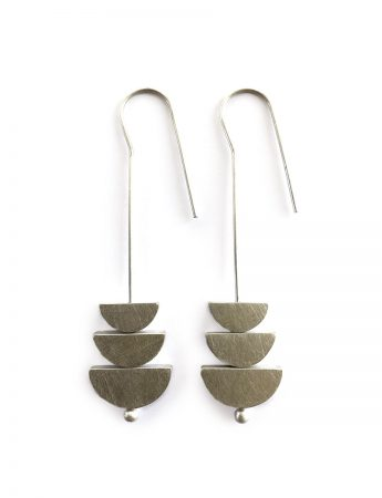 Changing Tides Earrings - Silver