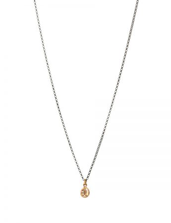 Glimmer Pendant Necklace - Yellow Gold & Diamonds