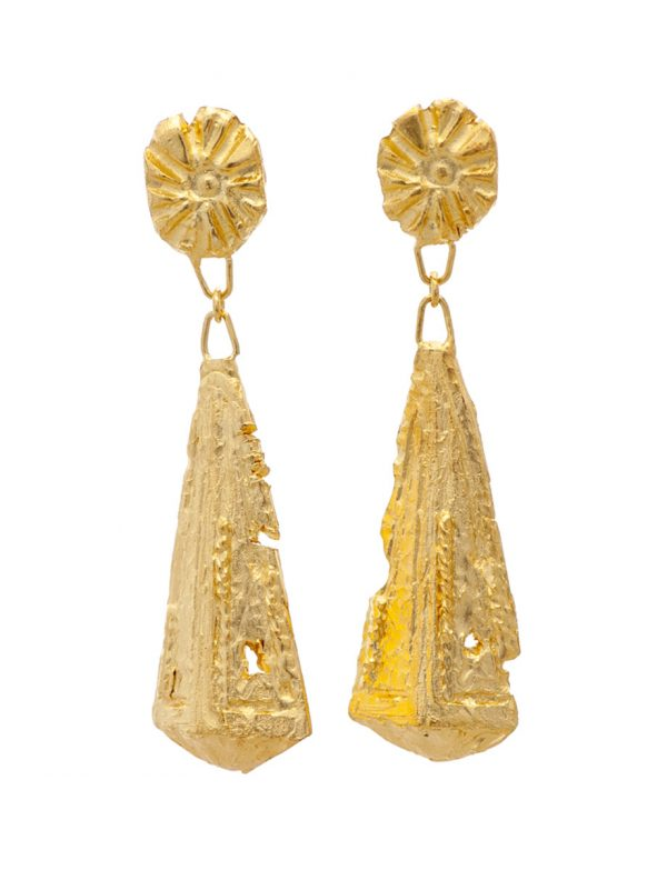 Zoraida Earrings – Yellow Gold Plate
