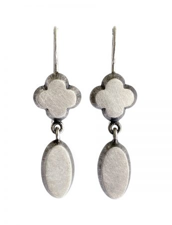 In Conversation Earrings - Silver