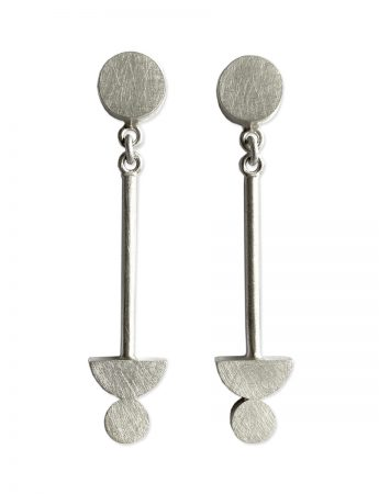 Matter of Balance Earrings  - Silver